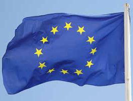 bandeira união europeia no site mrg sroc